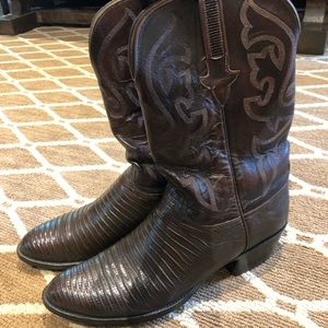 Authentic Men's Lucchese Boots